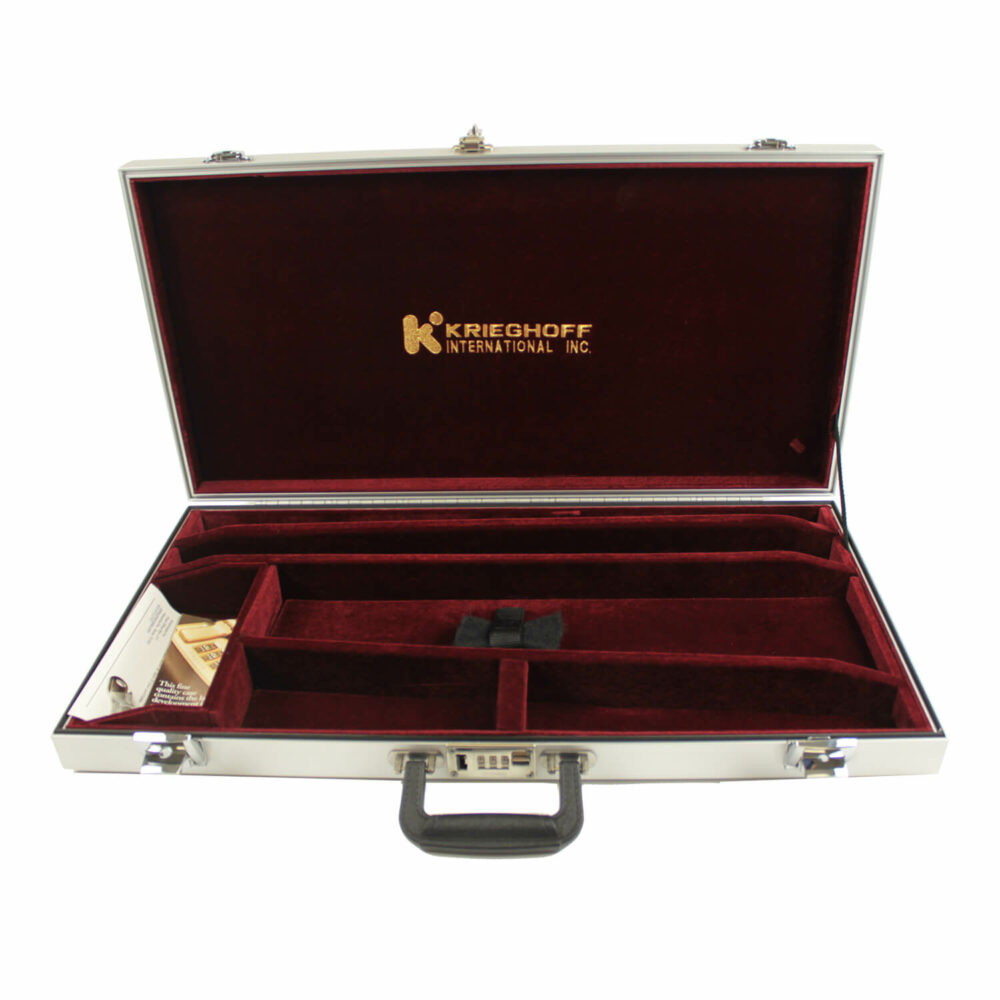 Americase Classic Double Rifle Case, Two Barrel Set, Holds One Scope