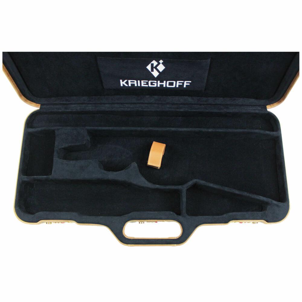 Negrini Classic Double Rifle Case, Holds One Barrel & One Scope