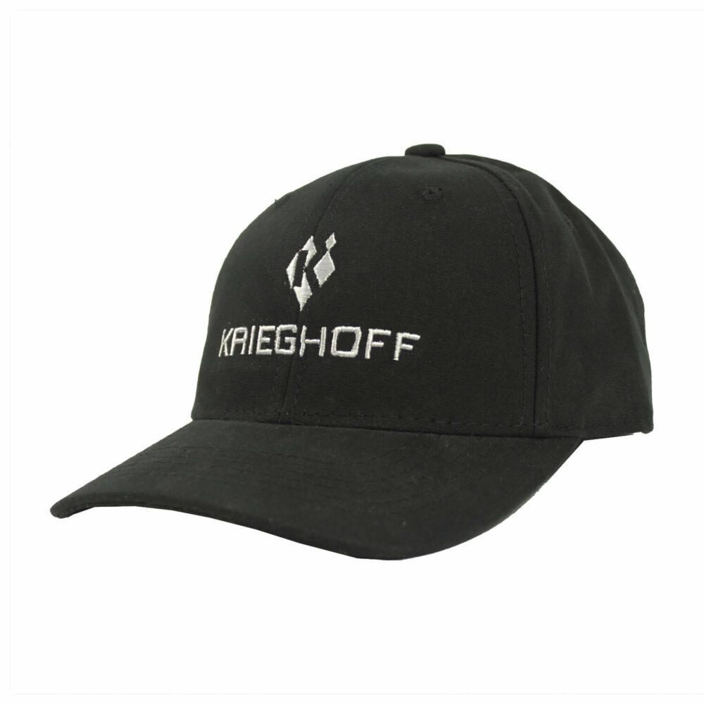 Krieghoff Cotton Twill Hat, Black