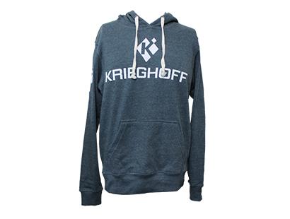 Krieghoff Hooded Sweatshirt, Blue