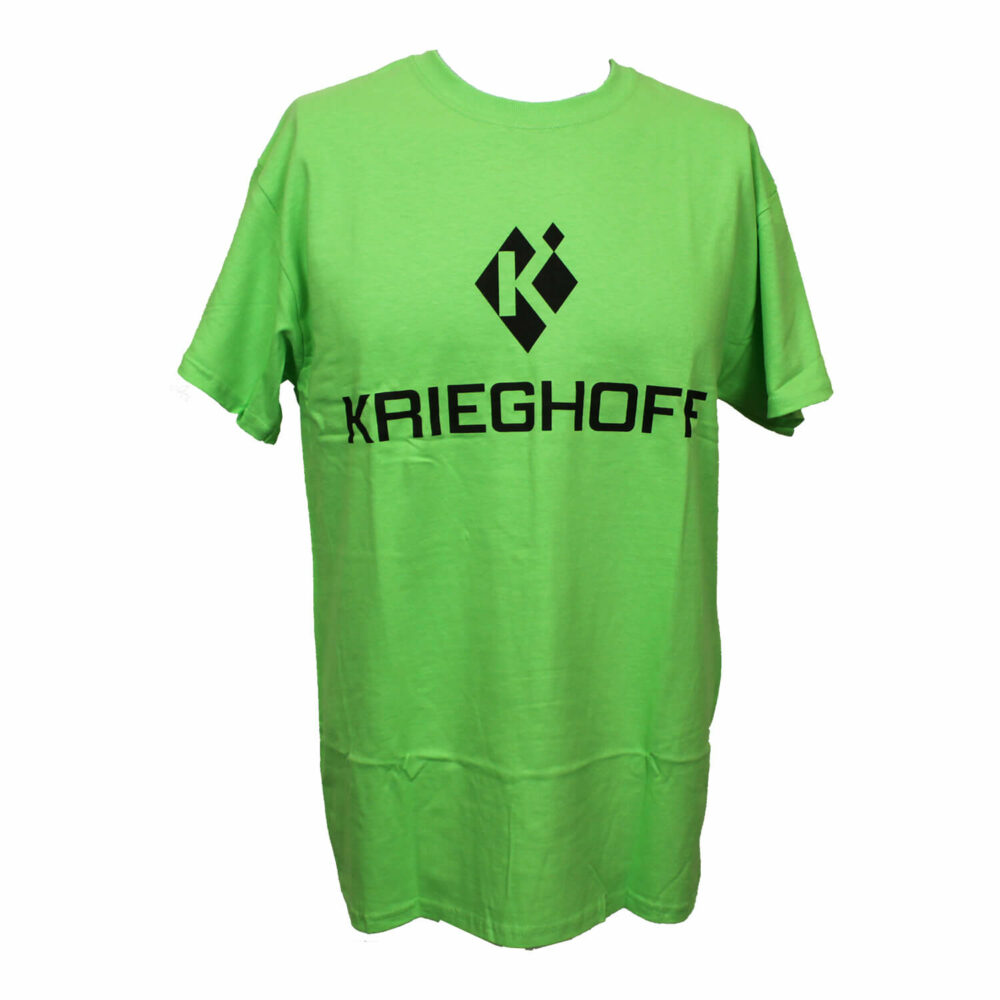 Krieghoff T-Shirt, Lime Green – Sizes Small & Medium Only