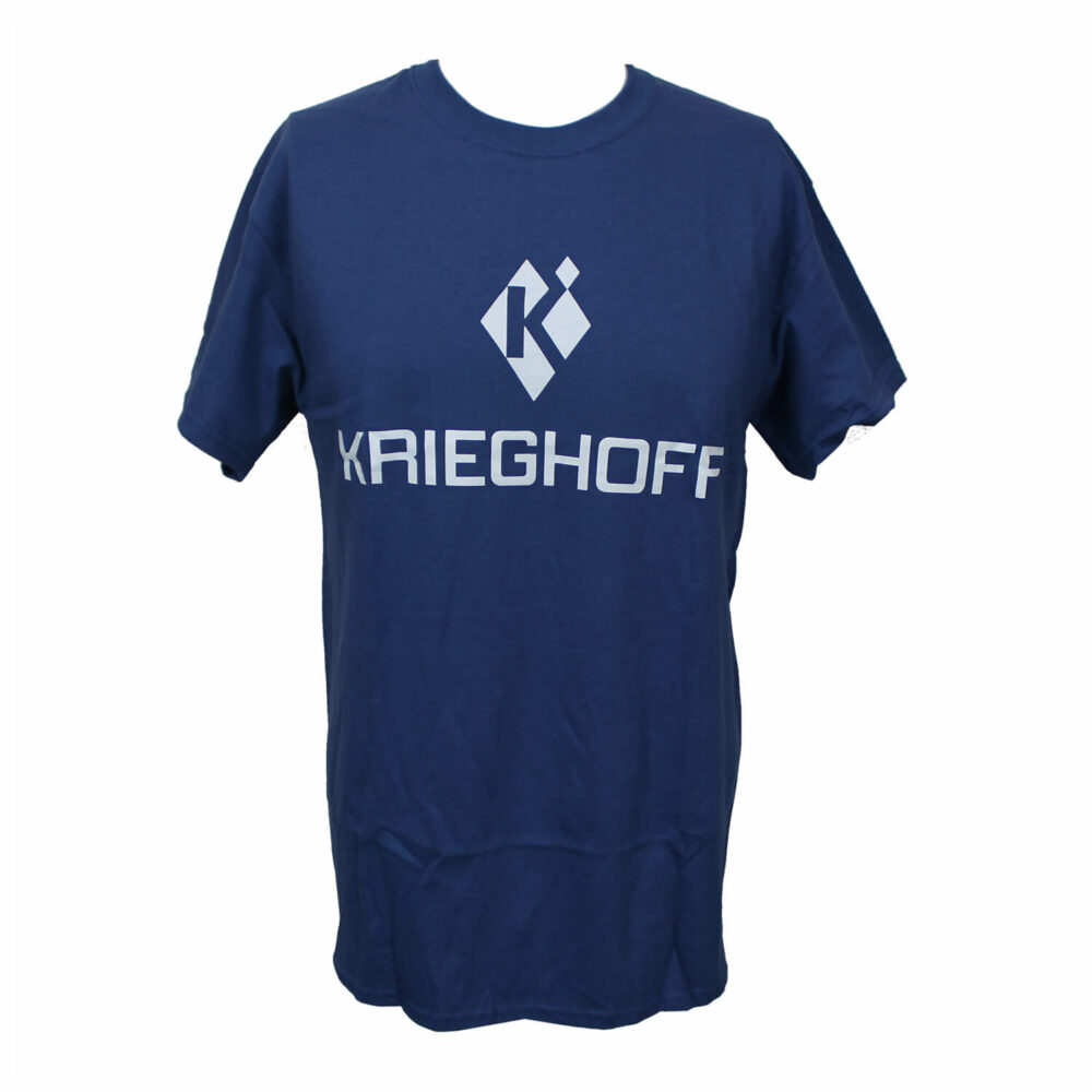 Krieghoff T-Shirt, Metro Blue – Size Small Only