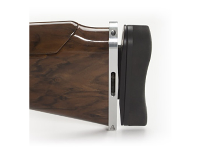 Krieghoff Factory Adjustable Butt Plate with Recoil Pad