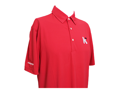 Bamboo Eco-Tec Men's Polo Shirt, Bright Red – Special Price