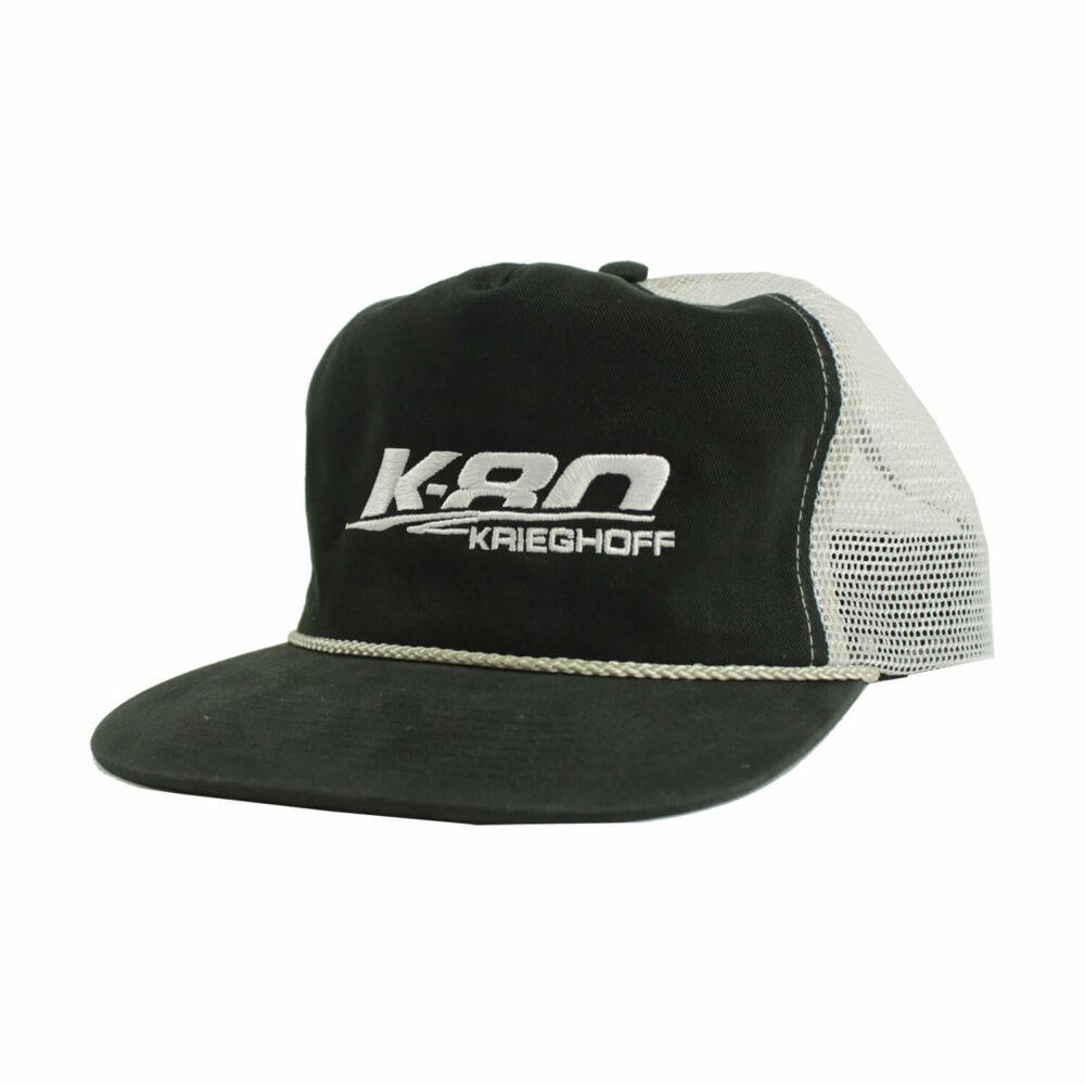 Hat, Trucker, K80, Black/White/Grey