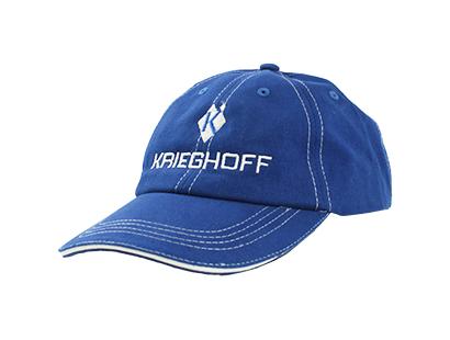 Hat, Kriehoff, Royal Blue/White
