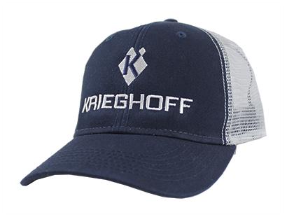 Hat, Krieghoff, Trucker, Navy/White