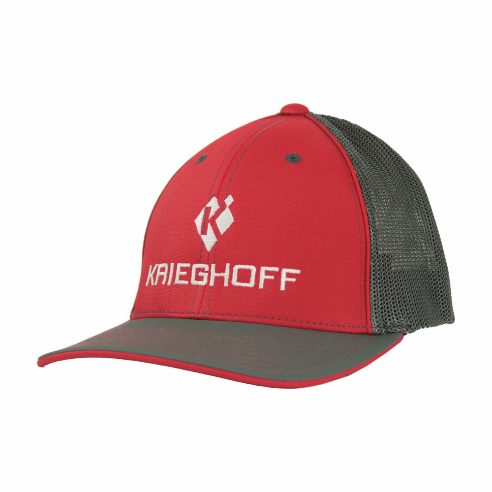 Hat, Trucker, Red/Graphite