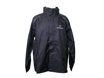 Jacket, Rain, Black