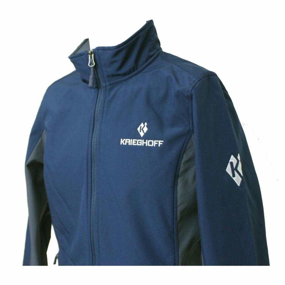 Jacket, Soft Shell, Ladies', Navy/Grey