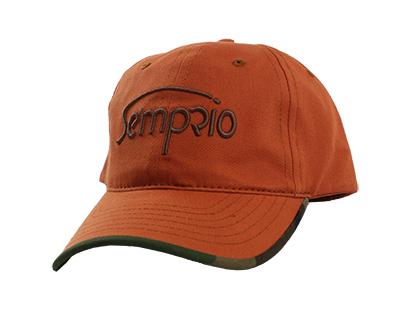 Hat, Semprio, Orange/Camo