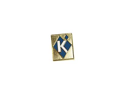 Pin, Diamond Logo