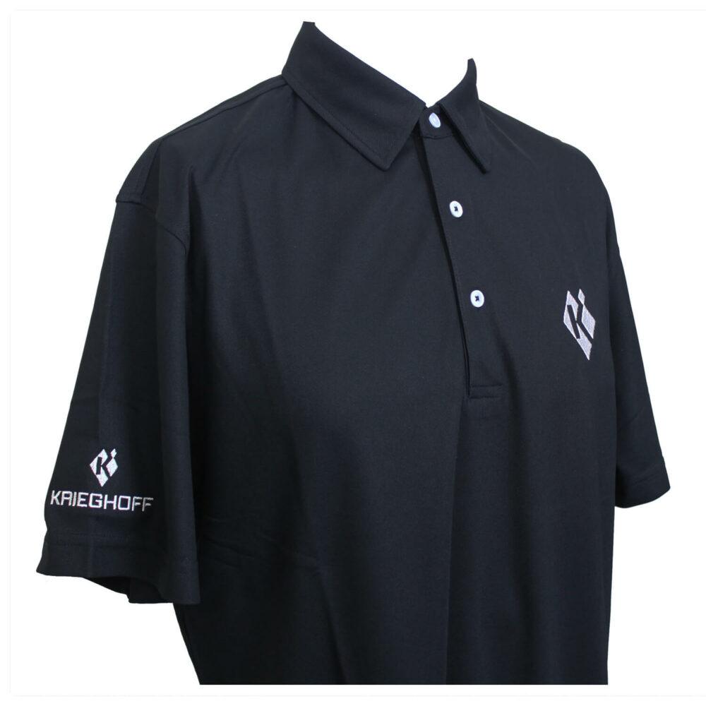 Ladies' Polo, Eco-Tec, Black