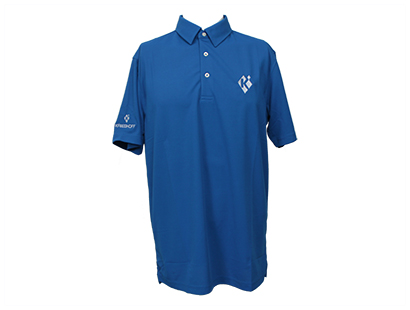Polo, Eco-Tec Pique, Nautical Blue