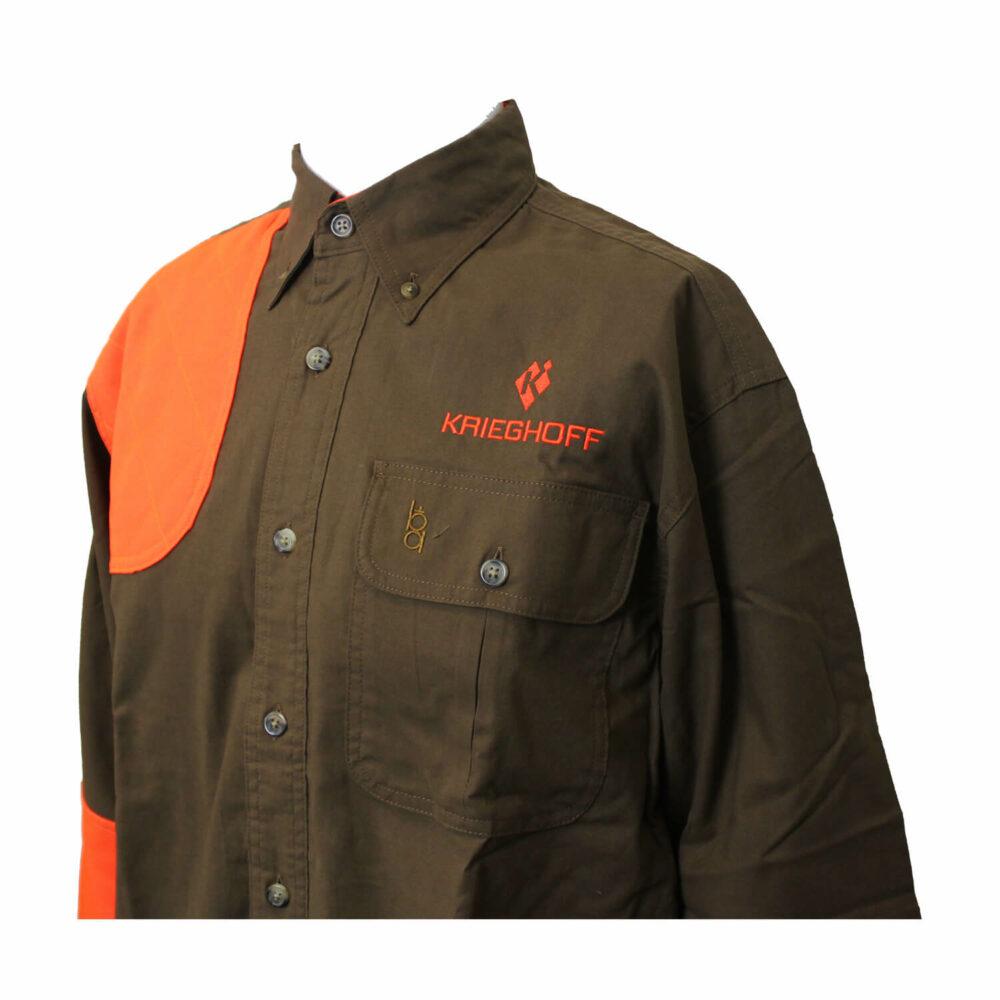 Ladies' Shirt, Hunting, LS, Brown/Tan