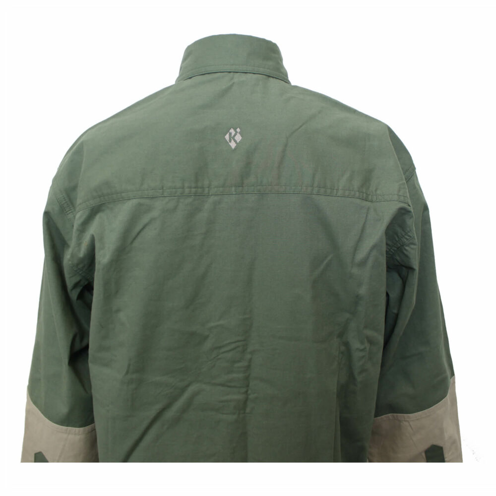 Shirt, Hunting, LS, Green/Tan