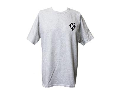 Krieghoff T-Shirt, Ash Grey