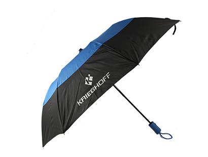 Umbrella, Black/Royal