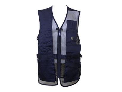 Shooting Vest by Bob Allen, Navy, RH