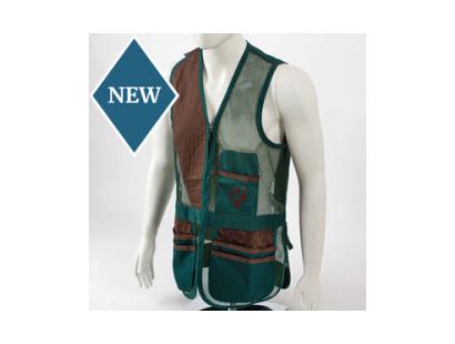 Shooting Vest by Castellani, Green, RH
