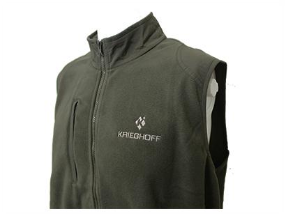 Vest, Fleece, Green