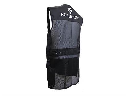 Shooting Vest by Croots, Mesh, Black, RH