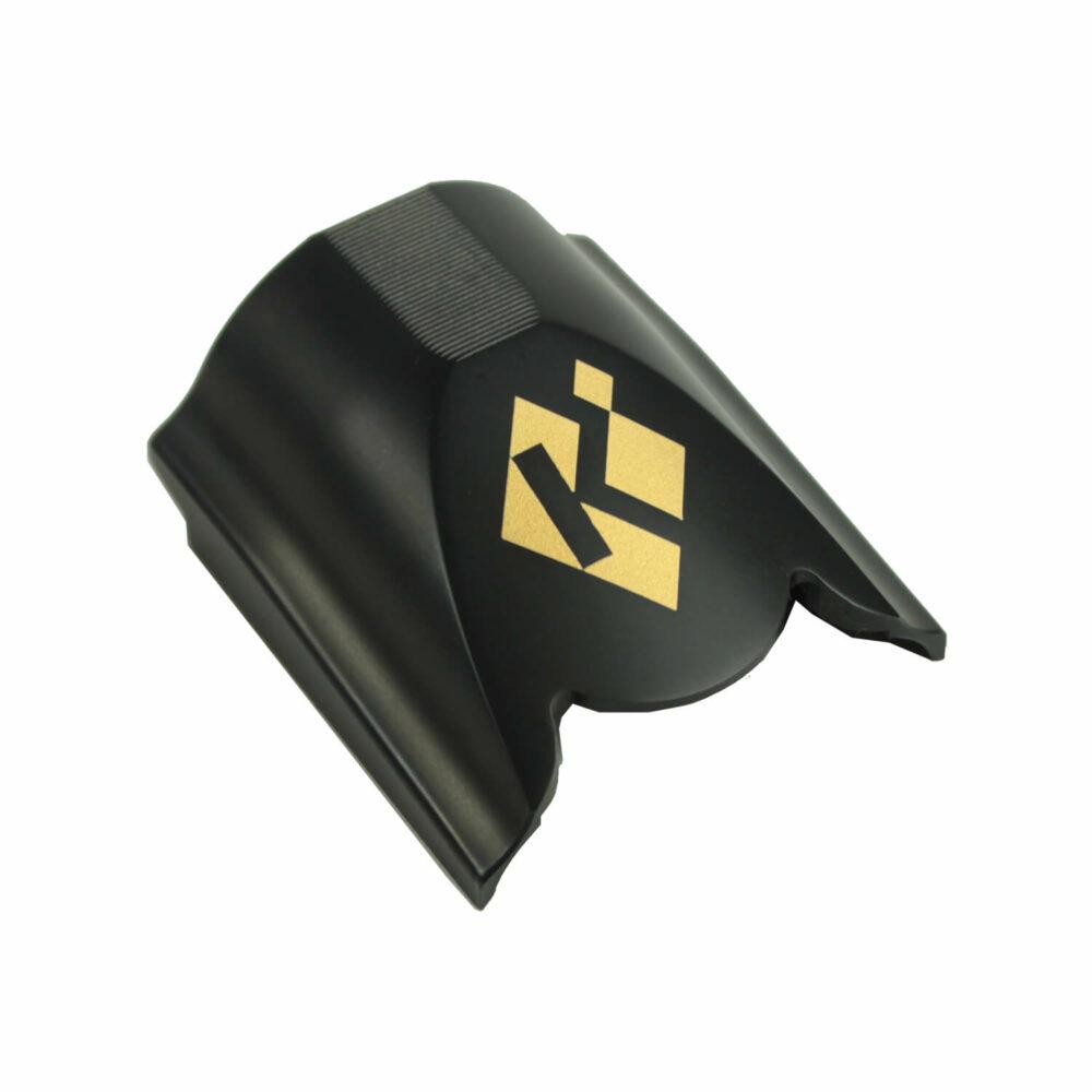 K-80 Top Latch, Blued with Gold K Diamond Logo
