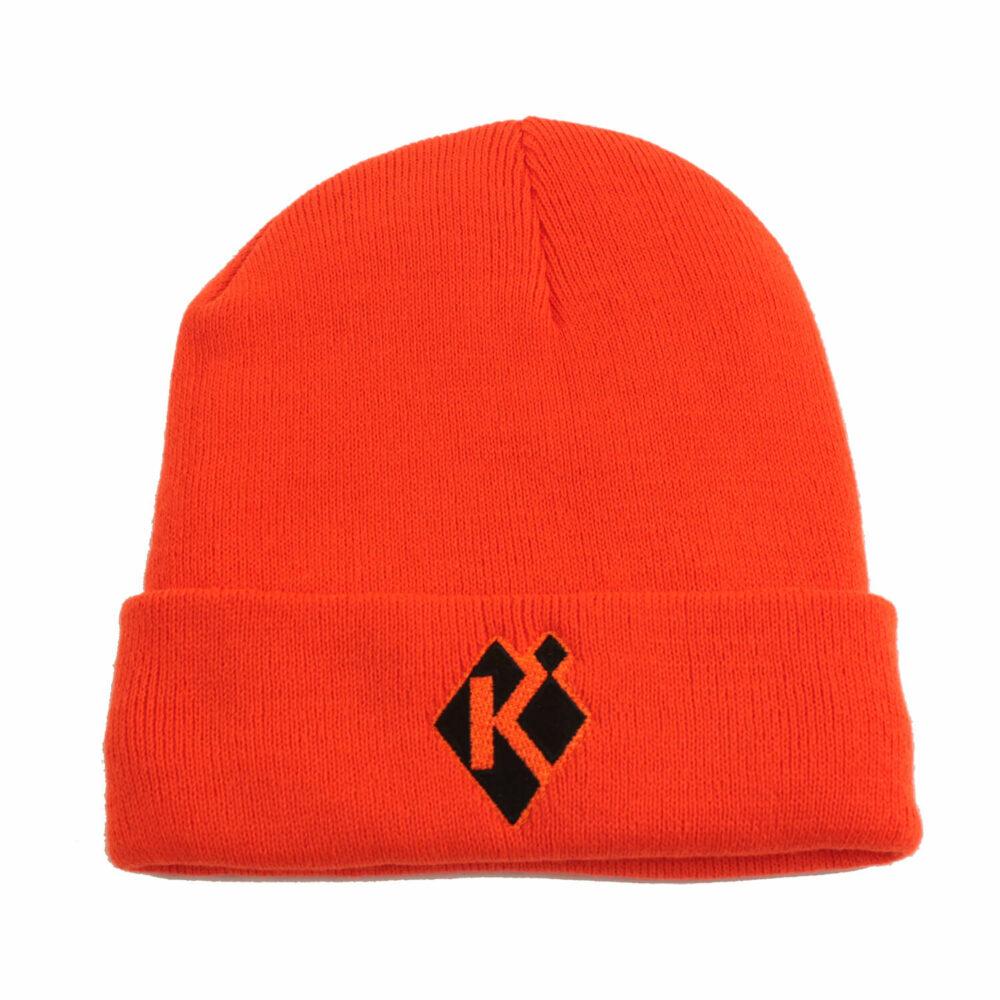 Krieghoff Fleece-Lined Beanie, Orange