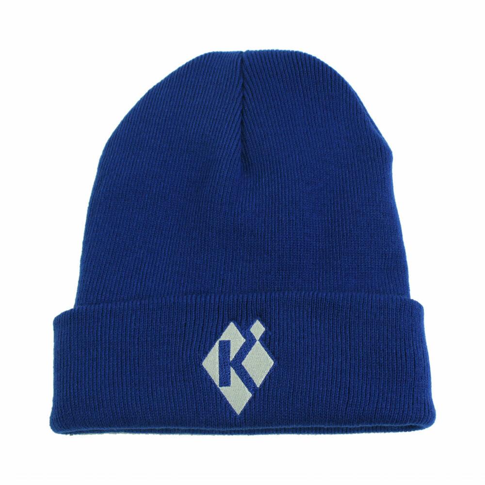 Krieghoff Fleece-Lined Beanie, Royal Blue