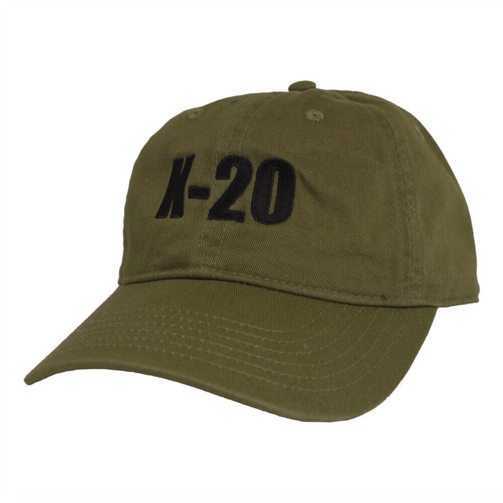 K-20 Organic Cotton Hat, Jungle Green