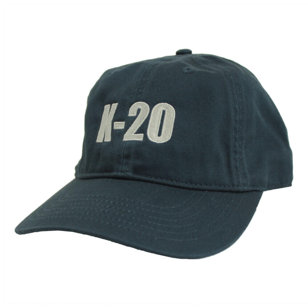 K-20 Organic Cotton Hat, Pacific Blue