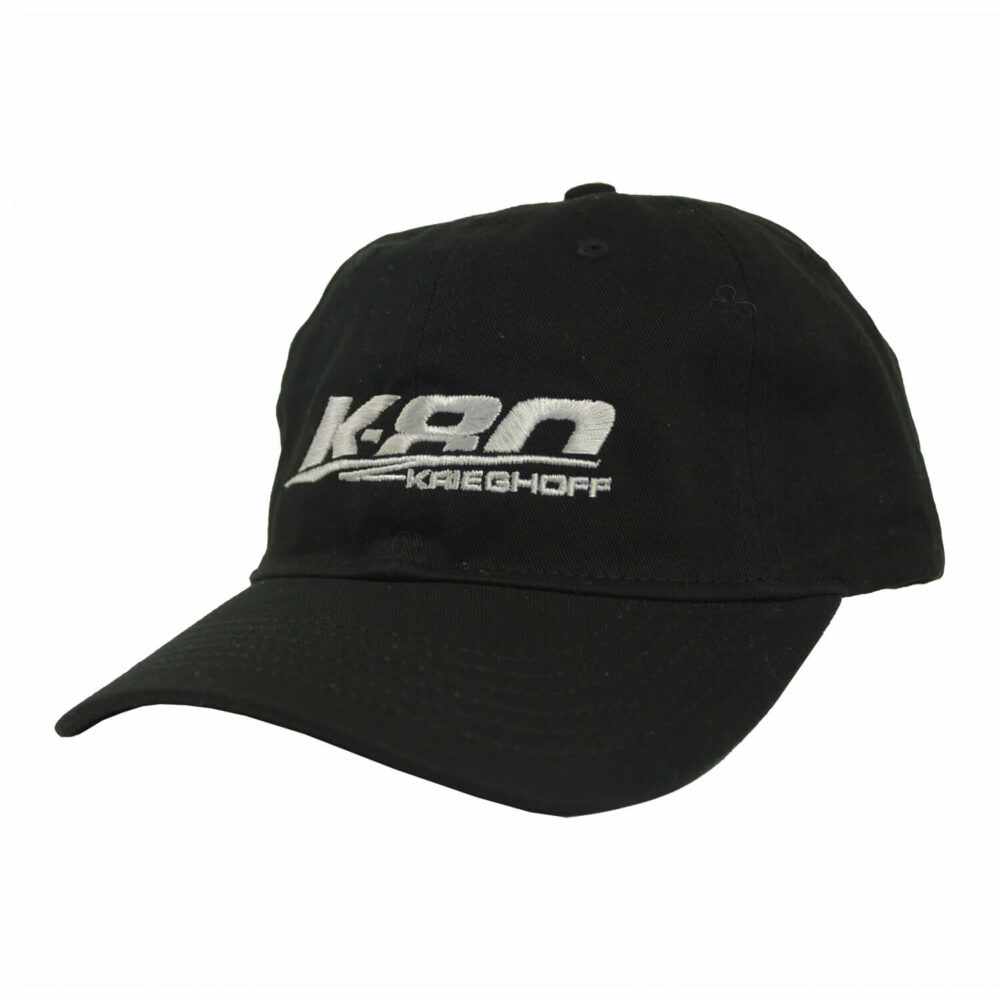 K-80 Cotton Twill Hat, Black