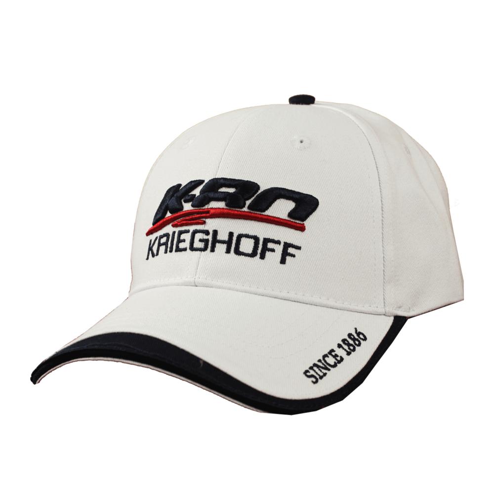 """K-80 """"Racr"""" Hat, White"""