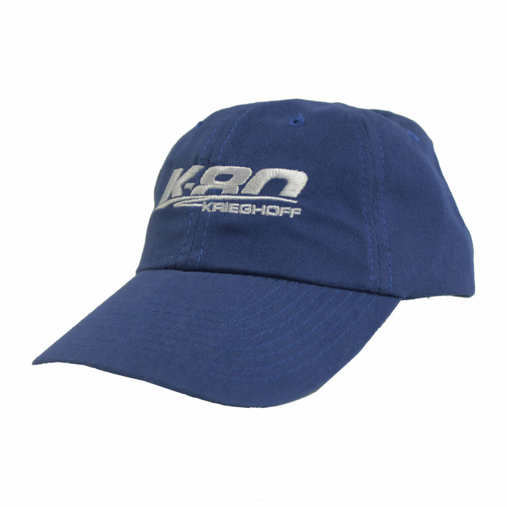 K-80 Cotton Twill Hat, Royal Blue