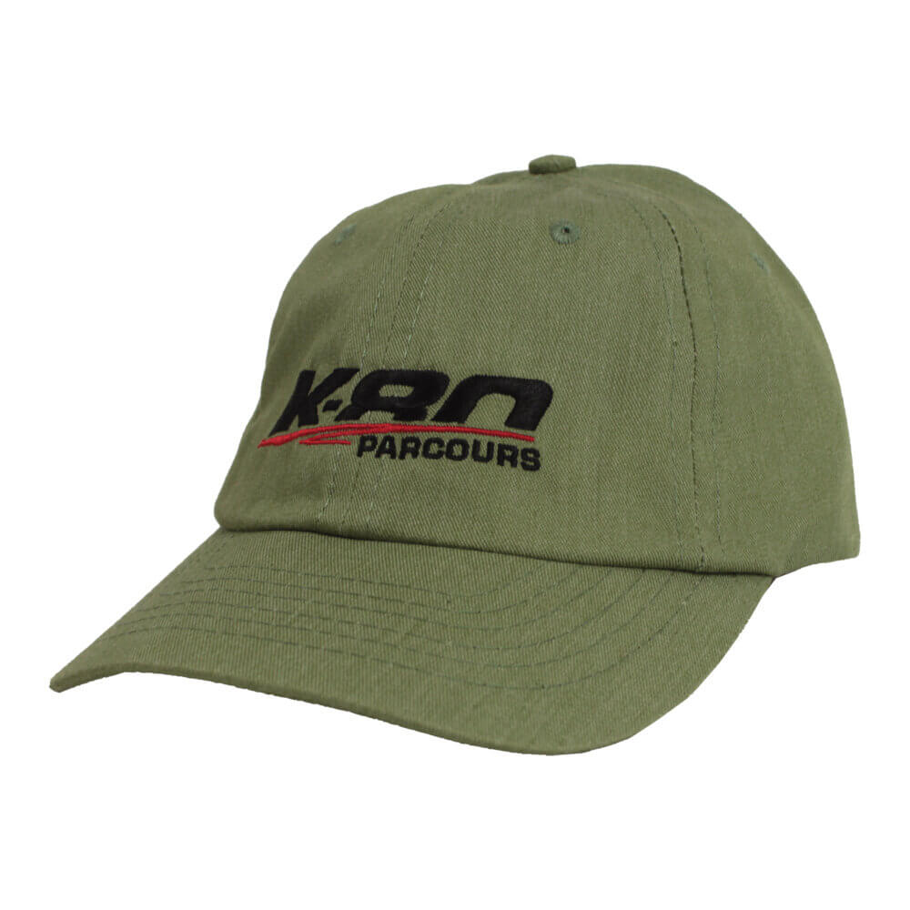 K-80 Parcours Eco-Twill Hat, Heather Green