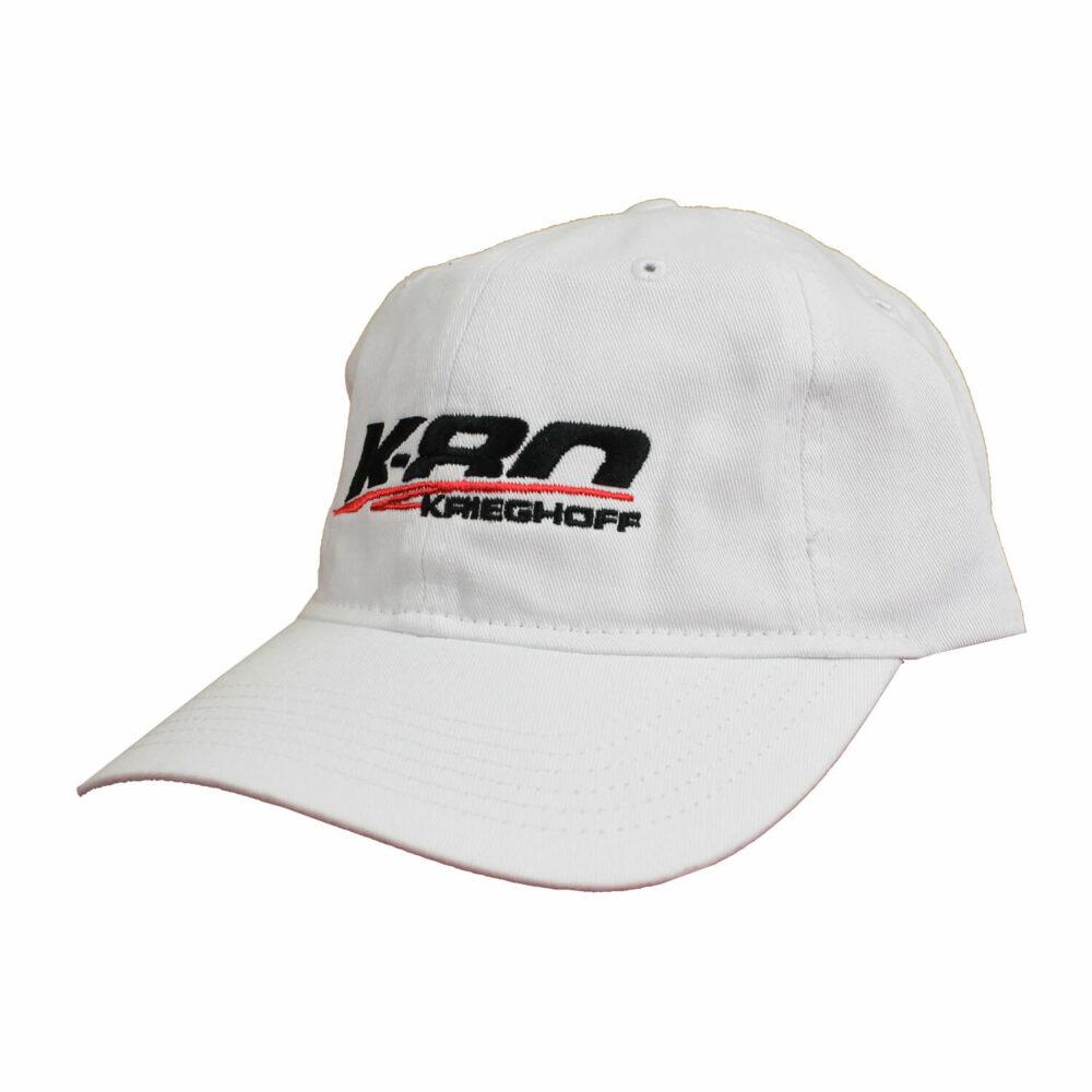 K-80 Cotton Twill Hat, White