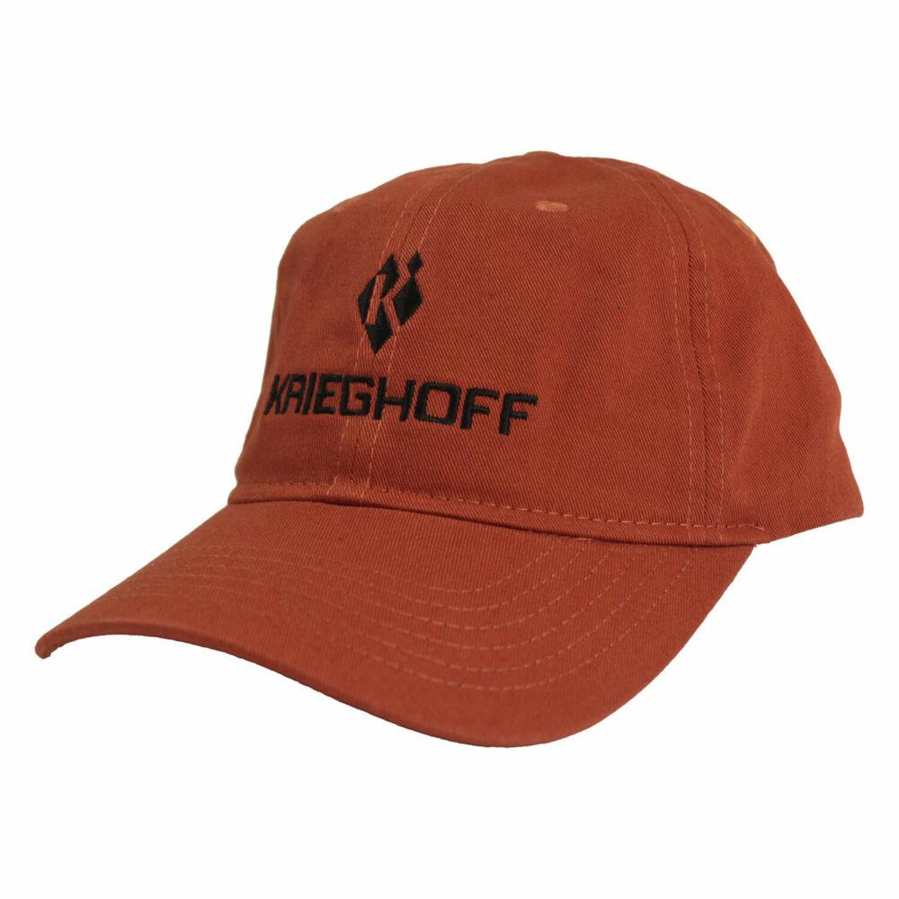 Krieghoff Cotton Twill Hat, Burnt Orange