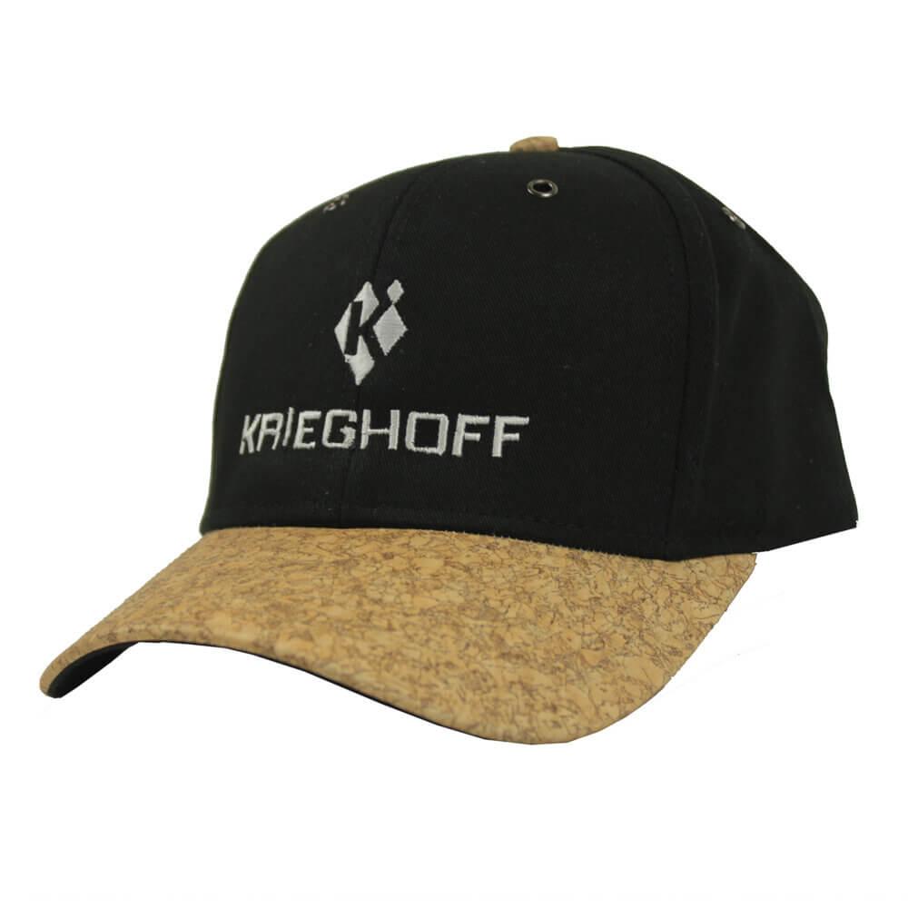 Krieghoff Cork Bill Hat, Black