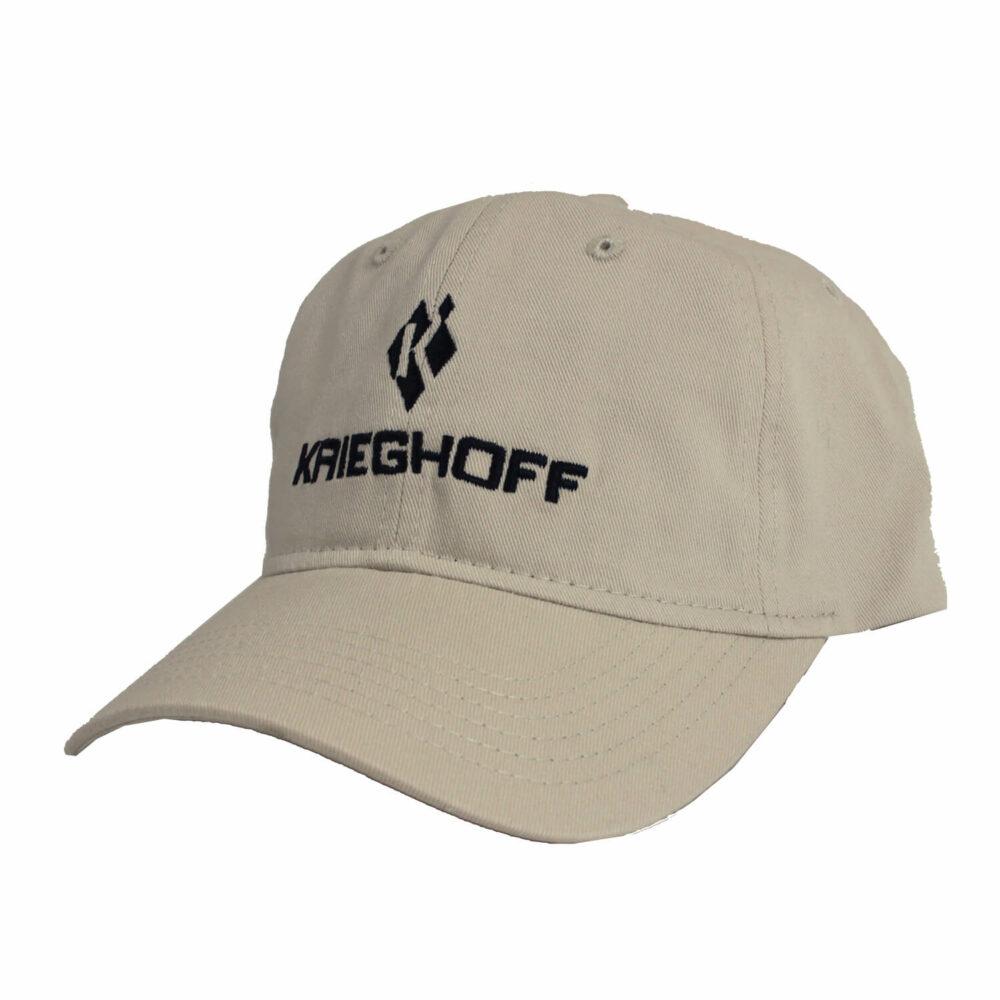 Krieghoff Cotton Twill Hat, Cream
