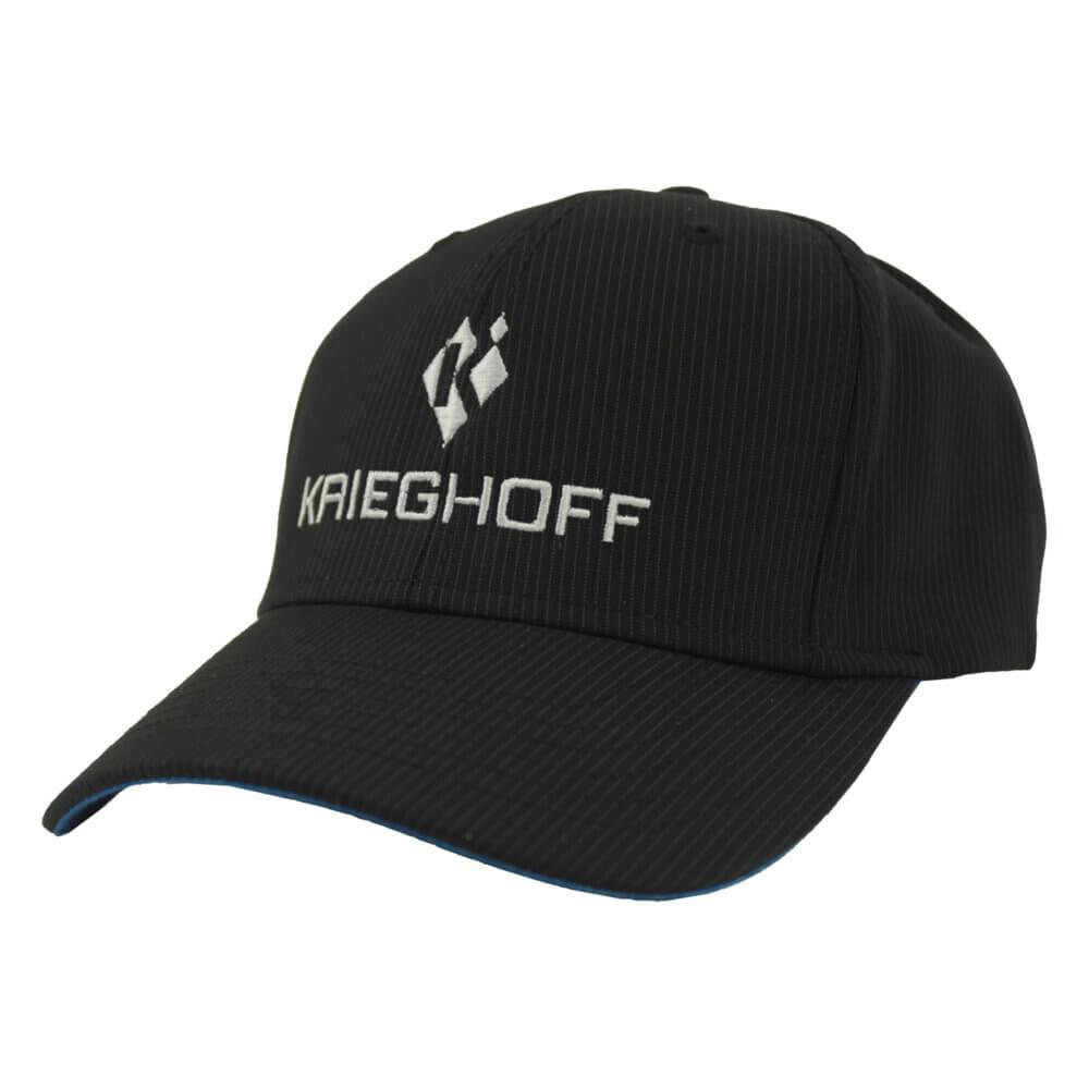 Krieghoff Pinstripe Hat, Navy/Blue