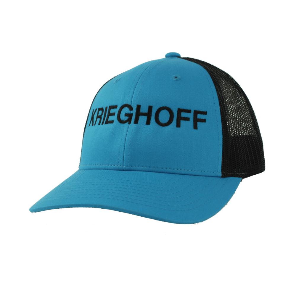 Krieghoff Trucker Hat, Blue/Black