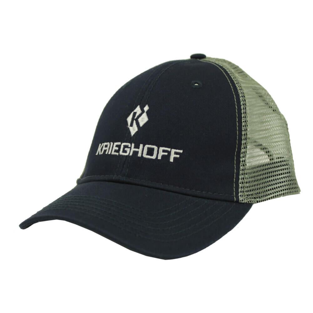 Krieghoff Trucker Hat, Navy/Gray