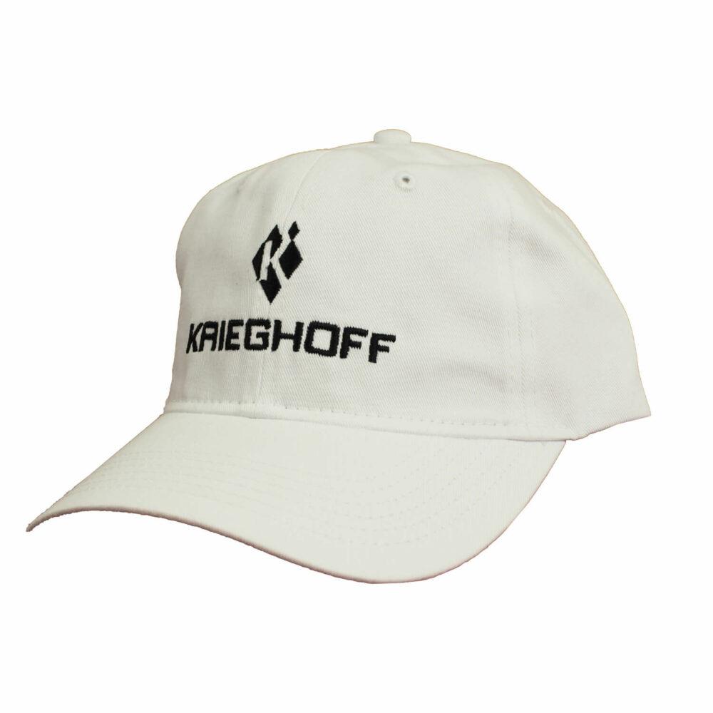 Krieghoff Cotton Twill Hat, White