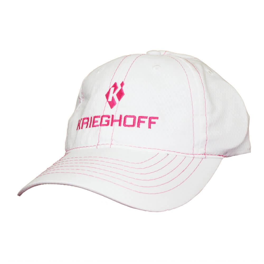 Krieghoff Ladies' Hat, White/Pink