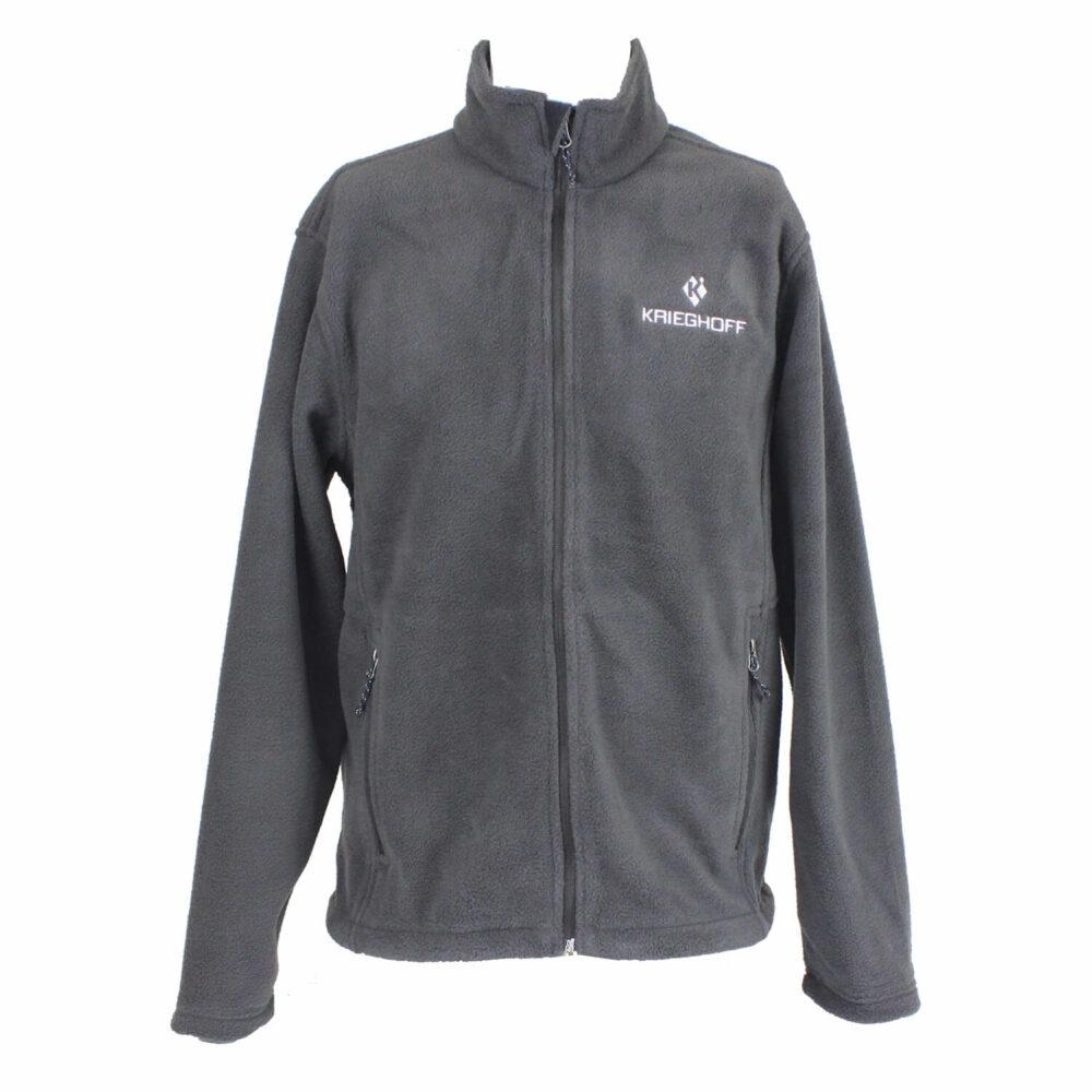 Krieghoff Full Zip Fleece Jacket, Iron Grey