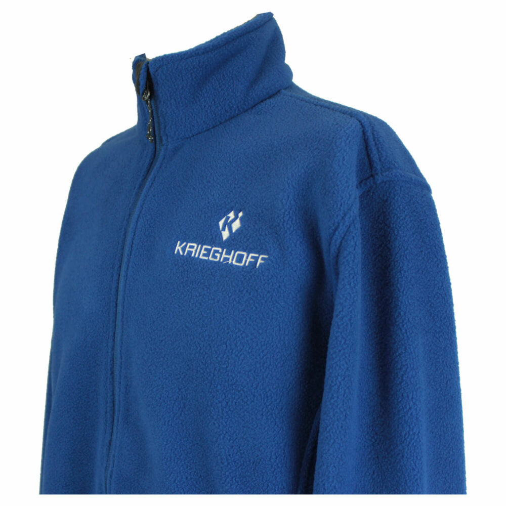 Krieghoff Full Zip Fleece Jacket, Royal Blue