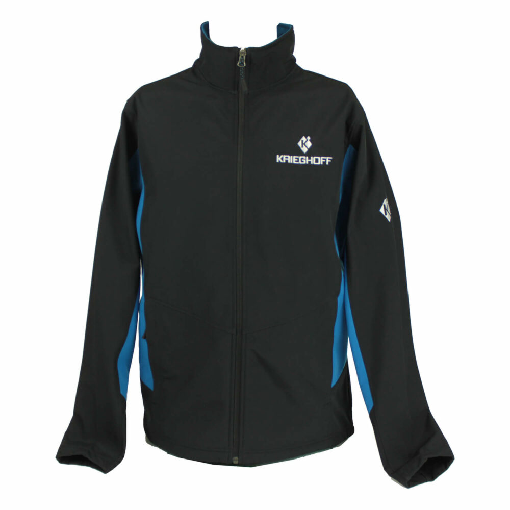 Soft Shell Jacket, Black/Royal