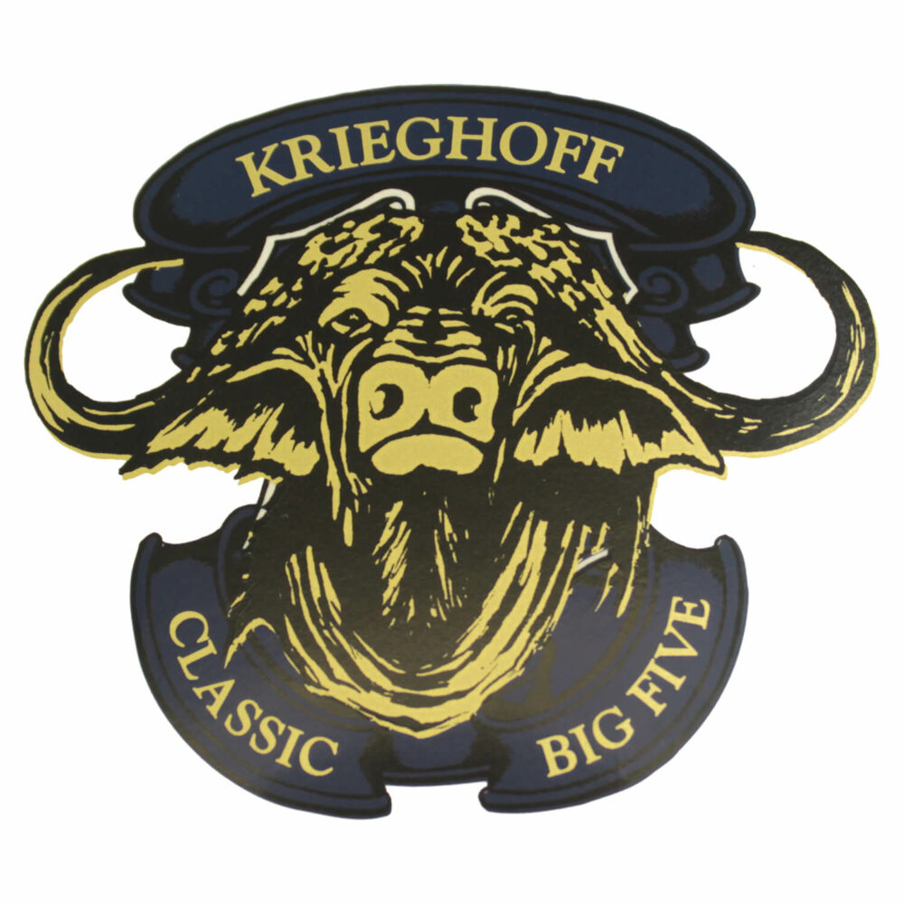 Krieghoff Classic Big Five Buffalo Sticker