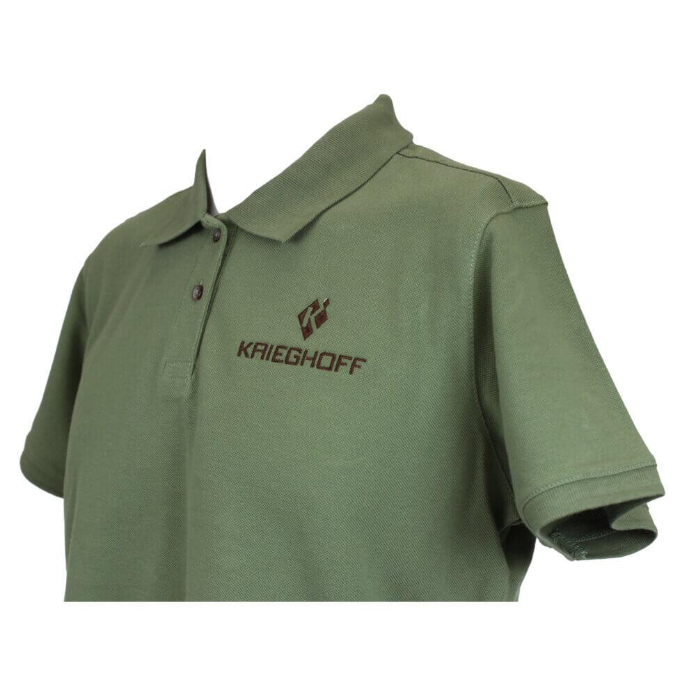Ladies' Cotton Polo Shirt, Green