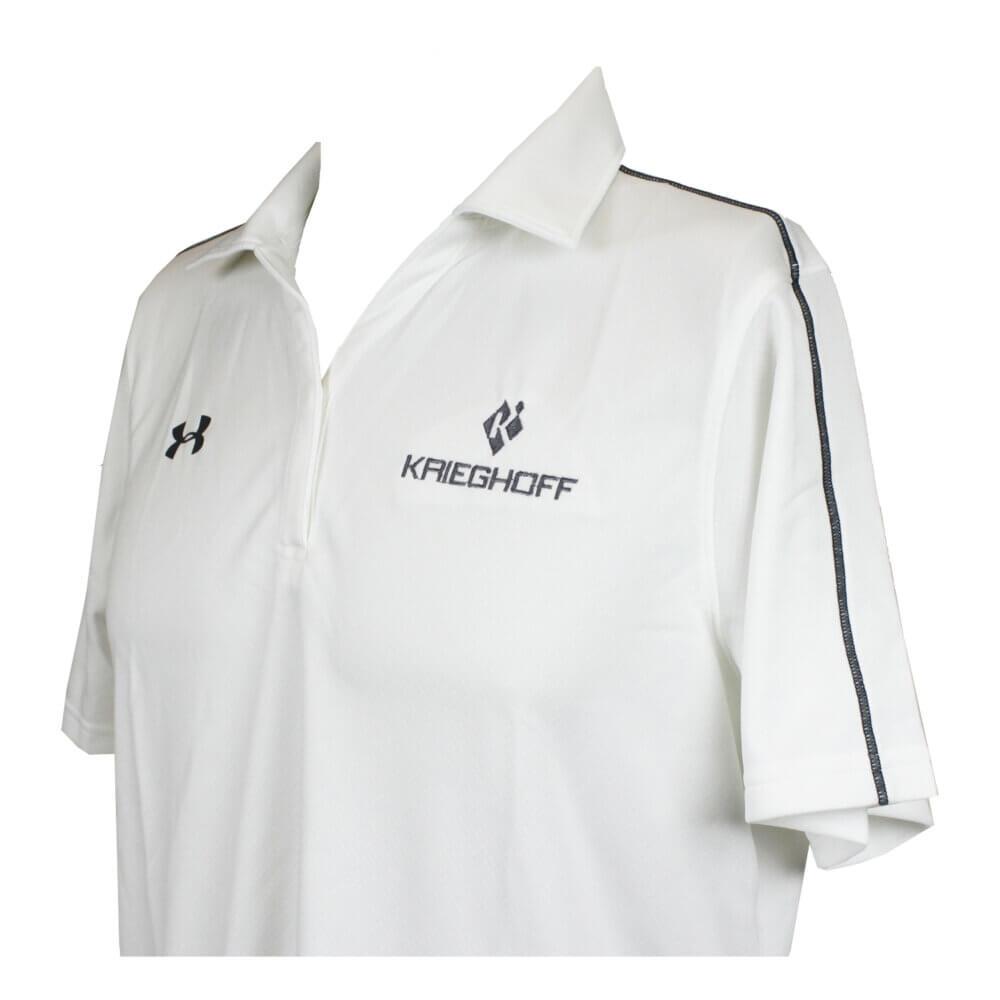 Ladies' Under Armour Polo Shirt, White